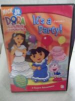 Dora The Explorer  It's A Party NICK JR DVD 4 Festive Adventures New Sealed
