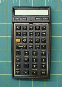 Hewlett Packard Halfnut HP-41CX Upper Case Half with Keypad