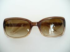 da9aa5e2438 Ralph Lauren Brown Sunglasses w Black Hardshell Case Holder 7518 S. 130 5