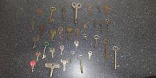 Old Vintage Antique Skeleton Keys Bundle