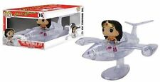 Funko Pop Rides Wonder Woman Invisible Jet DC Comics Action Figure