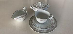 Noritake Glenwood 5770 tea set for 12!