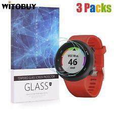 For Garmin Forerunner 45 (42mm Ver.) Tempered Glass Screen Protector (3 Packs)