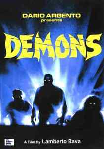 Demons 1985 - Horror  - Urbano Barberini, Natasha Hovey, Karl Zinny - DVD