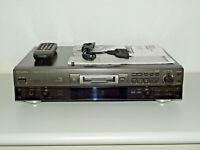 Technics SJ-MD100 High-End MiniDisc-Recorder, inkl. FB&BDA, 2 Jahre Garantie