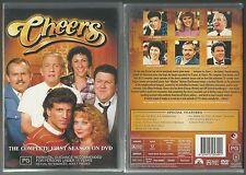 CHEERS COMPLETE SEASON ONE TED DANSON SHELLEY LONG RHEA PERLMAN NEW 3 DVD SET