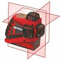 METRICA | 61405 Livella Laser Autolivellante 3D Junior 360° Autolivello Batteria