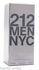Carolina Herrera 212 MEN HOMME EDT 100ml Eau de Toilette NEUF & 100% Authentique