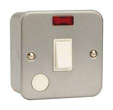 Metal clad 20A/20 amp double tringle interrupteur