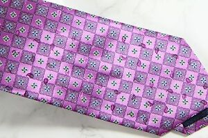 ZEGNA CLASSIC TIE - PINK - NEW IN PLASTIC WITH TAGS  - FREE BOXED SHIP