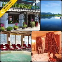 4 Tage 2P 4★S Hotel Oberstaufen Allgäu Wellness Kurzurlaub Hotelgutschein Berge