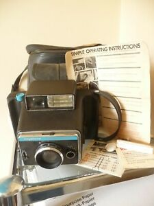 Vintage Keystone 800 Instant Picture Camera With Case & Manual - Nice Camera!