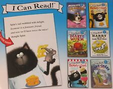 I CAN READ Lot 6 BOOKS SET Beginner Reader SPLAT THE CAT, CHARLIE RANCH DOG, NEW