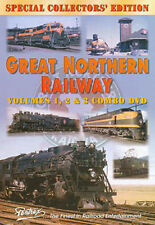 Great Northern Railway Combo DVD Pentrex Steam, Diesel, Electric iron ore GNR