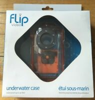 Underwater Case for Flip Video Camera w/ Durable Strap - Waterproof up to 30 ft