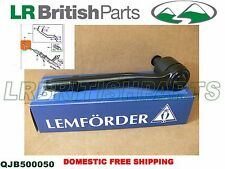 LAND ROVER TIE ROD END OUTER RANGE ROVER 03 - 12 LEMFORDER NEW QJB500050