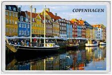 COPENHAGEN - JUMBO FRIDGE MAGNET - DENMARK DANISH