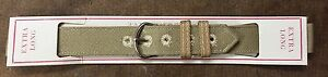 1940s WWII WW2 US Military Issue Wristwatch XL Band VINTAGE NOS 16mm 5/8in  B1H