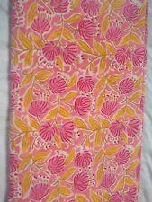 50 Yard Indian Vintage Hand Block Print Natural Dye Women Sewing Fabric Running
