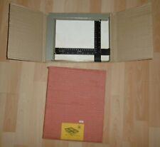 kindermann 1252 foto platte klapp rahmen alt schiebe skala amato i ovp 18x24 cm