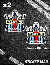 Martini Racing Pegatinas Calcomanías Lemans F1 descuartizar Williams Grand Prix LANCIA 911