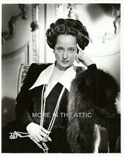 ALLURING MERLE OBERON HOLLYWOOD GLAMOUR PORTRAIT STILL #7
