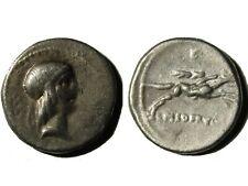 ROMAN SILVER REPUBLIC DENARIUS OF Q. TITUS (90 BC)!!!