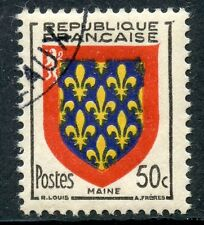 STAMP / TIMBRE FRANCE OBLITERE N° 999 BLASON MAINE