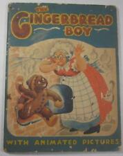 THE GINGERBREAD BOY WITH ANIMATED PICTURES JULIAN WEHR SAALFIELD 1949