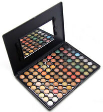 88 Colors Rose Glitter Eyeshadow Palette with Eye Shadow Brushes Make up Set