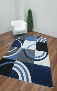 Chester Abstract Red/Brown Decor Area Rug Carpet