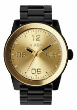 Nixon Corporal SS Watch Black/Gold NEW in box
