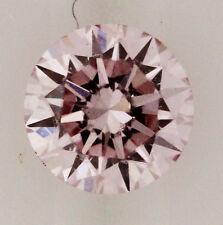 0.25ct! PINK AUSTRALIAN DIAMOND 100% UNTREATED +ARGYLE LASER INSCRIPTION +CERT