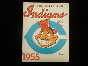 1955 Cleveland Indians Yearbook