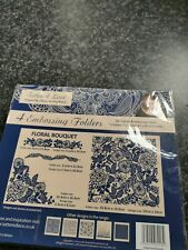 Tattered lace embossing folders