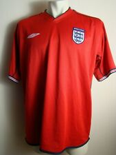 ENGLAND NATIONAL TEAM 2002 2004 AWAY FOOTBALL SHIRT JERSEY UMBRO REVERSIBLE