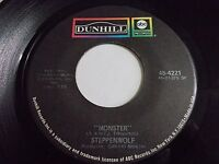 Steppenwolf Monster / Berry Rides Again 45 1969 ABC Vinyl Record