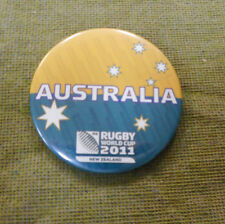#D431.   2011 AUSTRALIA  RUGBY UNION WORLD CUP BADGE