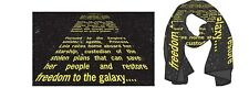 Star wars EPISODE 4 NEW HOPE 40TH ANNIVERSARY OPENING CREDIT CRAWL PX SCARF NEW!