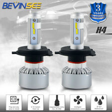 H4 9003 LED Headlight Bulbs For Suzuki Aerio 02-07 Grand Vitara 99-04 X-90 XL-7