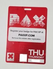 PAX EAST 2018 Thursday Badge   Pass   Ticket   April 5   Priority Mail