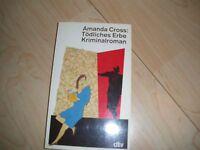 Tödliches Erbe-Amanda Cross-TB von dtv-Krimi