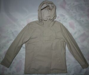 MERC MENS PULLOVER WATER RESISTANT HOODED JACKET IN STONE SIZE M NWT