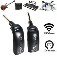 2.4GHZ Wireless Guitar System Built-in Rechargeable Digital Transmitter Receiver