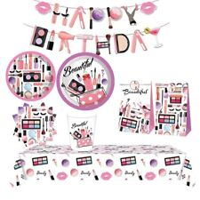 Spa Pamper Party Supplies Make Up Balloon Girl's Birthday  Beauty Decoration UK