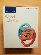 Nintendo Switch Steering Wheels - Twin Pack Red & Blue by Insignia