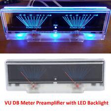 DB Meter VU Panel Meter Analog Amplifier Audio Power Level Indicator Backlight