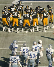 1976 Pittsburgh Steelers vs Dallas Cowboys Super Bowl 8x10 Photo TERRY BRADSHAW