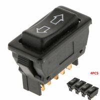 4Pcs 5Pin Car Window Rocker Switch UP-Down Power Door Locking Items Universal