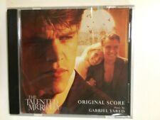The Talented Mr. Ripley Movie Cd Soundtrack Fyc Best Original Score Promo